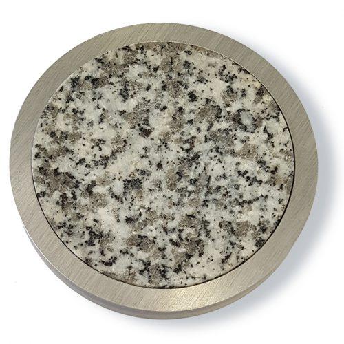 disques granit & anneaux alu